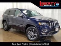 Clean CARFAX. True Blue Pearlcoat 2017 Jeep Grand