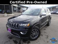 CARFAX One-Owner. 4WD. 2017 Jeep Grand Cherokee Limited
