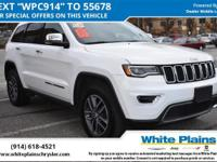 Jeep Certified. EPA 25 MPG Hwy/18 MPG City! Navigation,