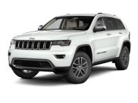 White 4WD. 2017 Jeep Grand Cherokee Limited 8-Speed