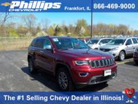 Options:  2017 Jeep Grand Cherokee Limited|Red|4Wd. You
