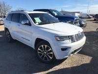 New Price! Clean CARFAX. White 2017 Jeep Grand Cherokee