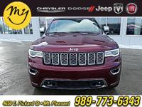 Options:  2017 Jeep Grand Cherokee Overland|Red|New