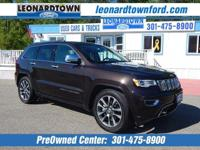 Like New Loaded Jeep Grand Cherokee Overland 4 Wheel