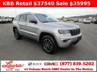 1-Owner New Vehicle Trade! Trailhawk 3.6 V6 4x4.