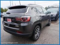 2017 Jeep Compass Latitude 4WD, ABS brakes, Alloy
