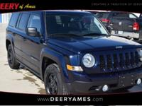 New Price! Certified. Blue 2017 Jeep Patriot Sport FWD