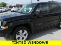 Recent Arrival! Black Clearcoat 2017 Jeep Patriot 4WD,