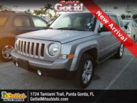 New Arrival! This 2017 Jeep Patriot Latitude, has a