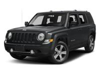 Clean CARFAX. Black Clearcoat 2017 Jeep Patriot