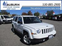 CRUISE CONTROL, 4WD, ONE OWNER! This 2017 Jeep Patriot