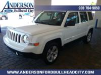 New Price! Bright White Clearcoat 2017 Jeep Patriot