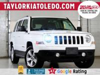 Priced below KBB Fair Purchase Price!  White 2017 Jeep