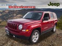 Options:  2017 Jeep Patriot Latitude|Red|17 X 6.5