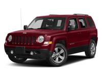 Bright White Clearcoat 2017 Jeep Patriot Sport 4WD