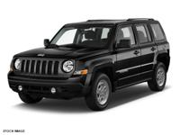 This BLACK 2017 Jeep Patriot SPORT 4X4 might be just
