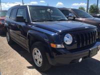 Options:  2017 Jeep Patriot Sport 4X4||1St And 2Nd Row