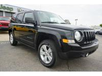 CARFAX One-Owner. Clean CARFAX. Black 2017 Jeep Patriot