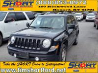 Black 2017 Jeep Patriot Sport 4WD 2.4L I4 DOHC 16V Dual