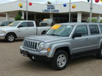 Check out this gently-used 2017 Jeep Patriot we