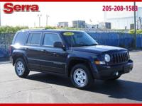 Blue 2017 Jeep Patriot Sport FWD CVT 2.0L I4 DOHC 16V