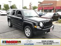 **HARD TO FIND** 2017 Jeep Patriot Sport with only