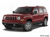 Treat yourself to this 2017 Jeep Patriot Sport, which