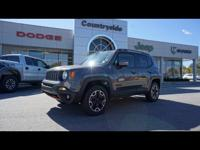 This 2017 Jeep Renegade is complete with top-features