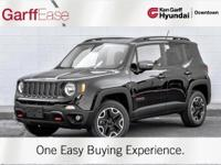 Take a Look at the Beautiful Renegade Trailhawk! Only