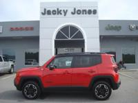 2017 Jeep Renegade Trailhawk in Red, *One Owner*,