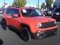 New Price!  CARFAX One-Owner. Clean CARFAX. 2017 Jeep