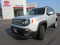 This 2017 Jeep Renegade comes equipped with satellite