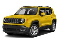Options:  2017 Jeep Renegade Lati|Granite/Black|V4 2.4