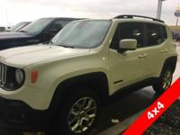 Options:  2017 Jeep Renegade Latitude|4Wd|Backup