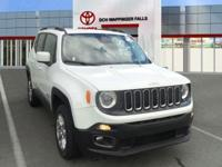 CARFAX One-Owner. Clean CARFAX. Alpine White 2017 Jeep