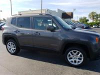Recent Arrival! 29/21 Highway/City MPG Gray 2017 Jeep