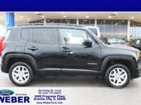 Black 2017 Jeep Renegade With Weber recently taking