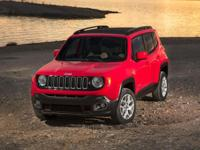 CARFAX One-Owner. Clean CARFAX. Red 2017 Jeep Renegade