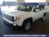 New Price! Alpine White 2017 Jeep Renegade Latitude FWD