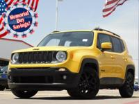 2017 Jeep Renegade Solar Yellow 9-Speed 948TE Automatic