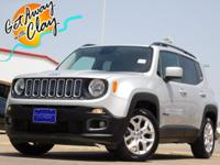 2017 Jeep Renegade Glacier Metallic 9-Speed 948TE