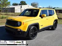 CARFAX One-Owner. Clean CARFAX. Yellow 2017 Jeep