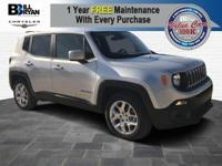 Prepare to tackle nature with the Jeep Renegade. A