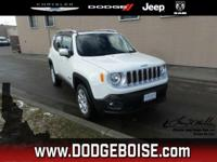 Boasts 29 Highway MPG and 21 City MPG! This Jeep