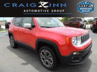 PREMIUM & KEY FEATURES ON THIS 2017 Jeep Renegade
