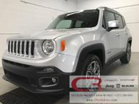 Options:  2017 Jeep Renegade Limited|Silver|Odometer Is