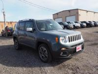 2017 Jeep Renegade Limited 30/22 Highway/City MPG Must