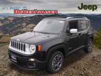 Options:  2017 Jeep Renegade Limited|Black|6.5