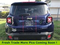 Recent Arrival! 2017 Jeep Renegade 29/21 Highway/City
