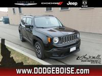 Boasts 30 Highway MPG and 22 City MPG! This Jeep